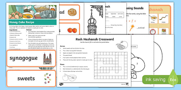 Rosh Hashanah  Activity Pack