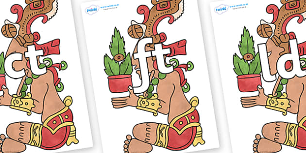 Final Letter Blends on Huun Ixim - Final Letters, final letter, letter blend, letter blends, consonant, consonants, digraph, trigraph, literacy, alphabet, letters, foundation stage literacy