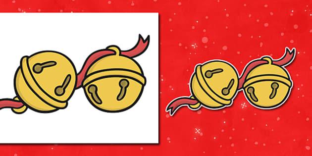 Editable Jingle Bells - Christmas, xmas, bells, editable, tree, advent, nativity, santa, father christmas, Jesus, tree, stocking, present, activity, cracker, angel, snowman, advent , bauble