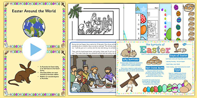 KS2 Easter Resource Pack - ks2, easter, resource, pack, celebrate