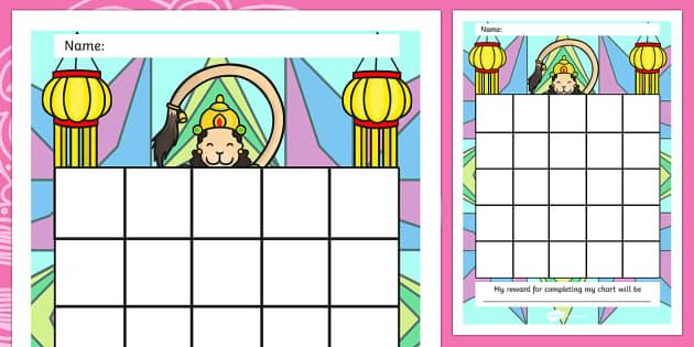 Diwali Sticker Reward Chart - diwali, sticker, reward chart, diwali sticker, reward sticker, diwali chart, reward, award, behaviour management, sticker chart