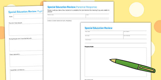 Editable SENCO Review Forms - senco, review, forms, editable