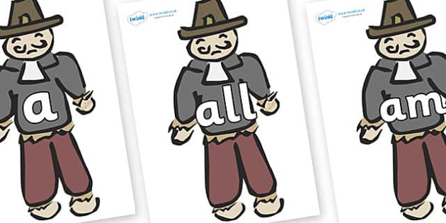 Foundation Stage 2 Keywords on Guy Fawkes - FS2, CLL, keywords, Communication language and literacy,  Display, Key words, high frequency words, foundation stage literacy, DfES Letters and Sounds, Letters and Sounds, spelling