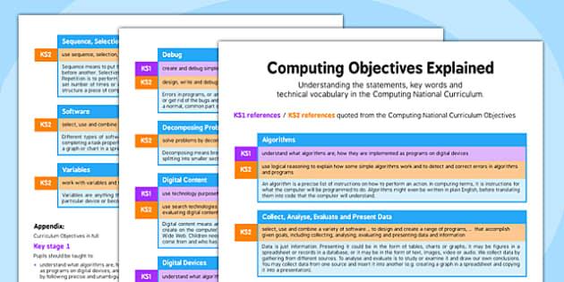 Computing Objectives Explained - computing, objectives, explained