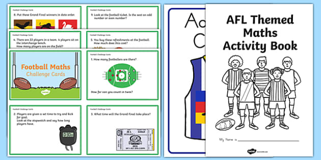 AFL Maths Challenge Activity Pack-Australia