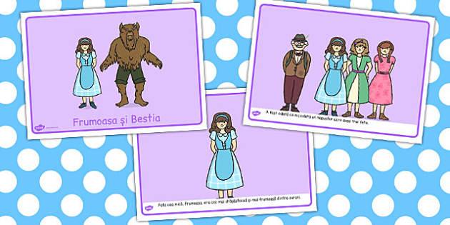 Frumoasa și Bestia - Planșe ilustrative ale poveștii