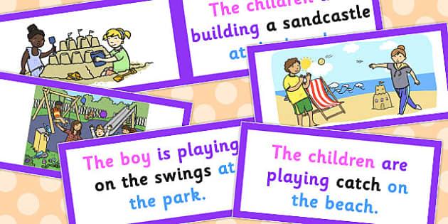 Picture Description Cards - picture, description, cards, describe