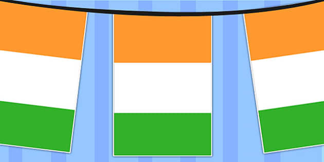 Cote d'Ivoire Ivory Coast A4 Flag Bunting - Flag, Bunting, Ivory