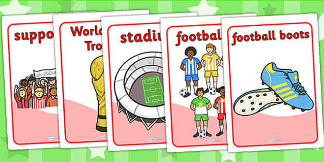 Football World Cup Display Posters - football, sports, posters