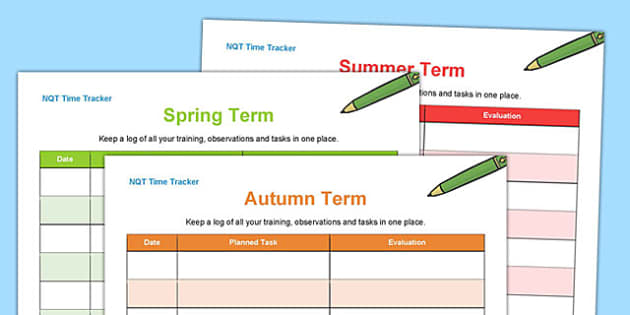 NQT Time Tracker - nqt, time tracker, time, tracker, new teacher