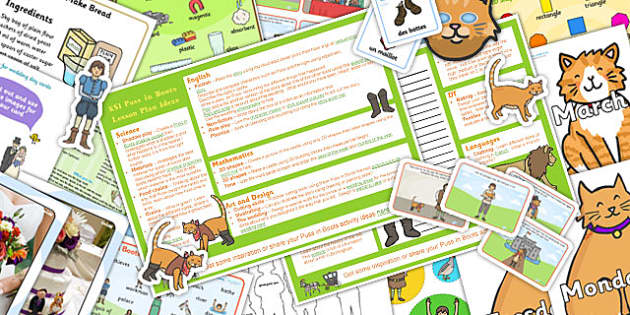 Puss in Boots KS1 Lesson Plan Ideas and Resource Pack - lesson
