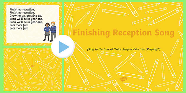 Finishing Reception Song PowerPoint