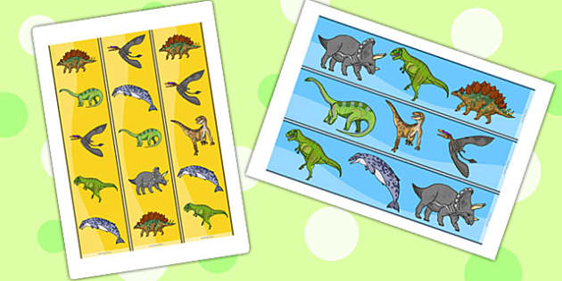 Realistic Dinosaurs Display Borders - dinosaur, display borders