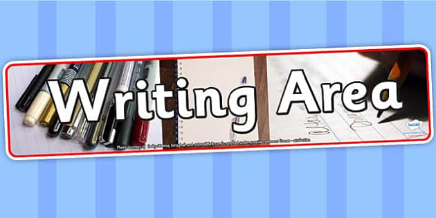 Writing Area Photo Banner - writing area, display, photo banner, banner, display banner, display header, themed banner, photo display, photo header, photos
