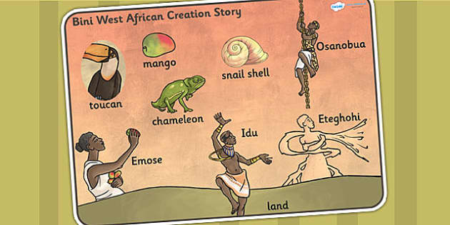 Kingdom of Benin: Bini Creation Story Word Mat