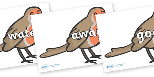 Next 200 Common Words on Robins - Next 200 Common Words on  - DfES Letters and Sounds, Letters and Sounds, Letters and sounds words, Common words, 200 common words