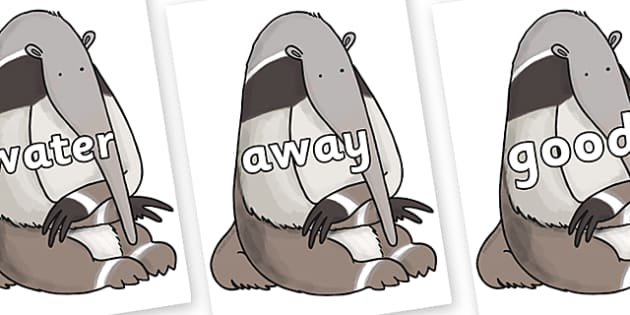 Next 200 Common Words on Anteater to Support Teaching on The Great Pet Sale - Next 200 Common Words on  - DfES Letters and Sounds, Letters and Sounds, Letters and sounds words, Common words, 200 common words