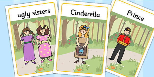 Cinderella Display Posters - cinderella, display posters, display