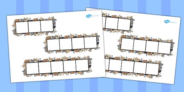 Animal Themed Phoneme Frames - animal, phoneme, literacy, frames