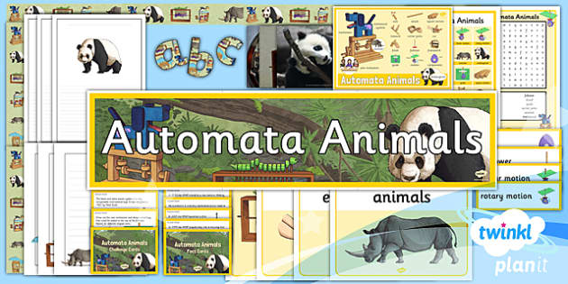 PlanIt - Design and Technology UKS2 - Automata Animals Unit Additional Resources - planit, design and technology, uks2, automata animals, additional resources