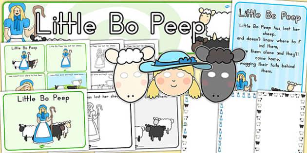 Little Bo Peep Resource Pack - australia, Little Bo Peep