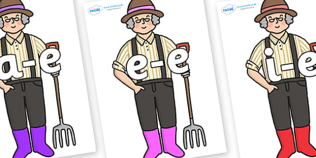 Modifying E Letters on Enormous Turnip Farmer - Modifying E, letters, modify, Phase 5, Phase five, alternative spellings for phonemes, DfES letters and Sounds