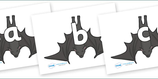 Phoneme Set on Bats - Phoneme set, phonemes, phoneme, Letters and Sounds, DfES, display, Phase 1, Phase 2, Phase 3, Phase 5, Foundation, Literacy