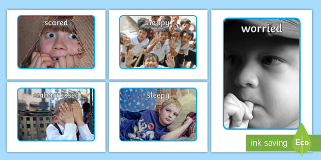 Our Emotions A4 Display Photos - photo, displays, emotion, visual