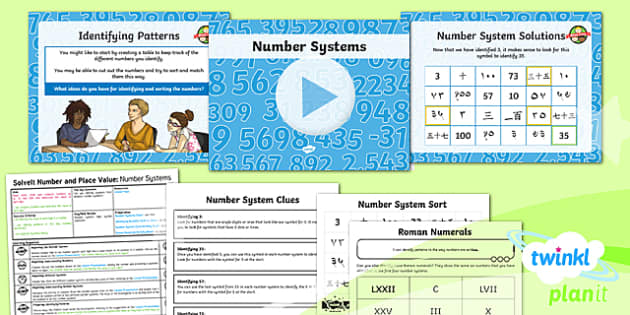 PlanIt Y6 Number and Place Value SolveIt Lesson Pack - Number, Place Value, number system, digits.