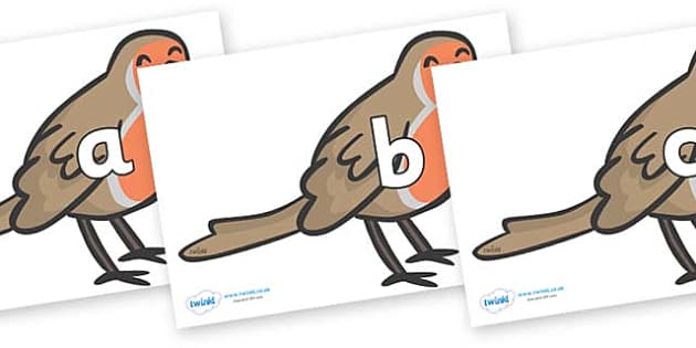 Phase 2 Phonemes on Robins - Phonemes, phoneme, Phase 2, Phase two, Foundation, Literacy, Letters and Sounds, DfES, display