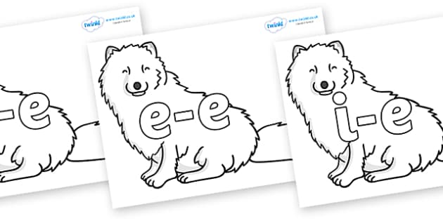 Split Digraphs on Arctic Foxes on Arctic Foxes - Modifying E, letters, modify, Phase 5, Phase five, alternative spellings for phonemes, DfES letters and Sounds
