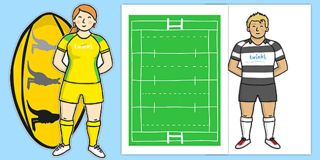 Rugby Kit Cut Outs - australia, rugby, kit, cut outs, cut, outs