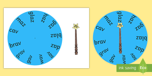 Magic e Wand Wheels Long A - magic e, wand, wheels, long a, magic e wand