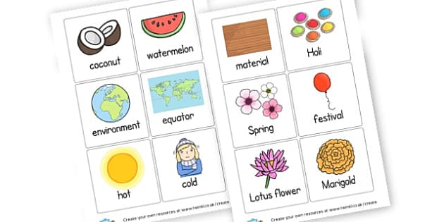 India Topic Cards - India Literacy Primary Resources, asia, indian, hindu, sikh