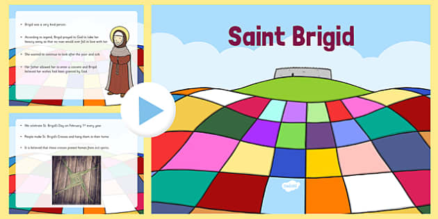 Saint Brigid Informative PowerPoint - saint brigid, irish history, ireland, saint, patron, powerpoint, informative