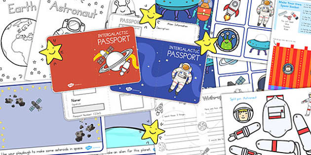 Space Lesson Plan Ideas and Resources Pack - australia, space