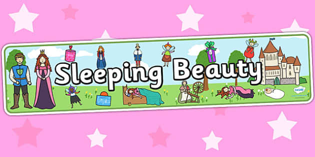 Sleeping Beauty Display Banner - sleeping beauty, traditional tales, sleeping beauty banner, display, banner, display banner, display header, themed banner