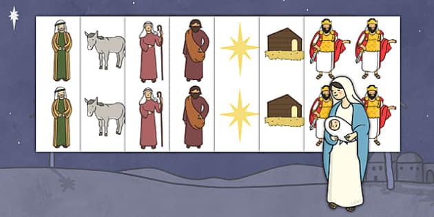 Christmas Nativity Images Editable  - christmas, nativity, xmas