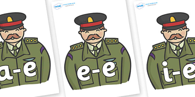 Modifying E Letters on Generals - Modifying E, letters, modify, Phase 5, Phase five, alternative spellings for phonemes, DfES letters and Sounds