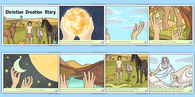 Christian Creation Story - usa, america, religion, RE, religious education