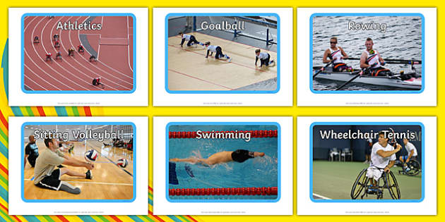 Paralympic Sports Display Photos