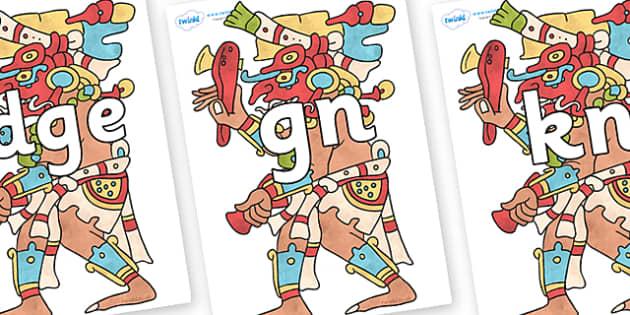 Silent Letters on Chaak - Silent Letters, silent letter, letter blend, consonant, consonants, digraph, trigraph, A-Z letters, literacy, alphabet, letters, alternative sounds