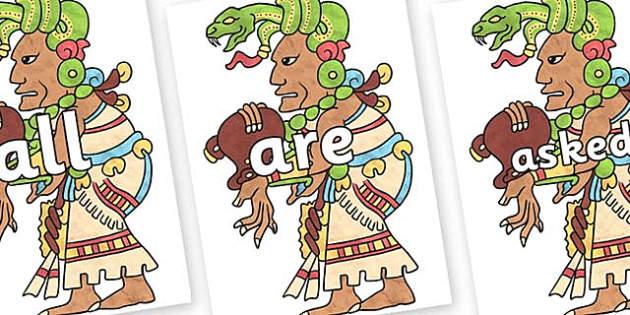 Tricky Words on Ix Chel - Tricky words, DfES Letters and Sounds, Letters and sounds, display, words