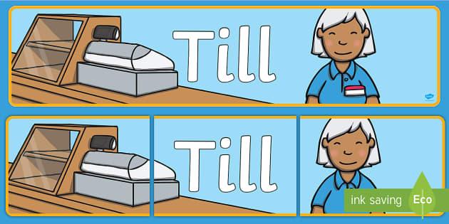 Till Sign Display Banner - till sign, display banner, display, banner, till, sign, display sign, pay