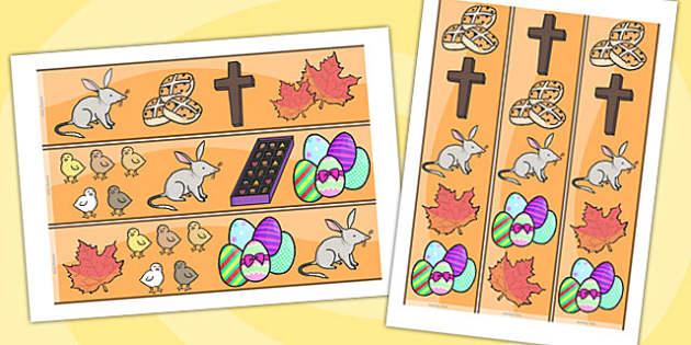 Easter Display Border - easter, easter display, borders, religion