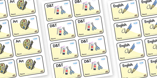 Pearl Themed Editable Book Labels - Themed Book label, label, subject labels, exercise book, workbook labels, textbook labels