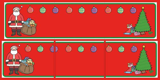 Christmas Themed Editable Display Banner - christmas, display banner, christmas display banner, editable display banner, editable christmas banner
