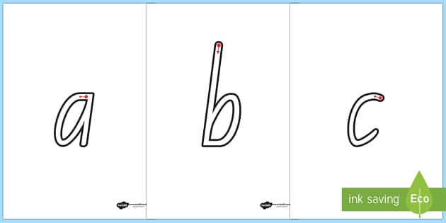 Letter Formation Worksheets A Z - formation, a-z, alphabet