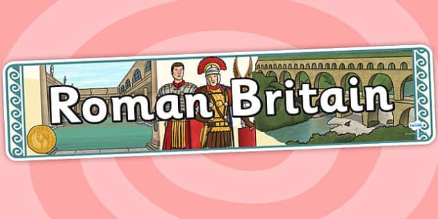 Roman Britain Display Banner - roman, britain, banner, display