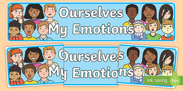 Ourselves: My Emotions Display Banner